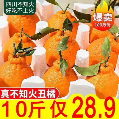 四川丑橘不知火丑八怪橘子新鲜孕妇水果当季桔子柑橘丑柑丑桔5斤