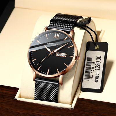 77228/卡诗顿品牌新款概念手表男士时尚防水夜光石英表韩版潮流学生男表