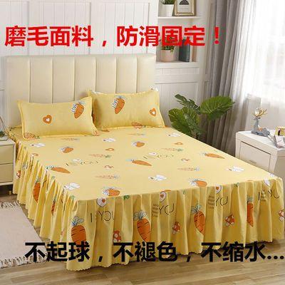 清仓单件床裙床罩韩式席梦思床套保护套床垫套床盖床笠床单防滑套
