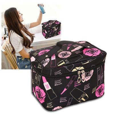 旅行随身化妆包大容量便携收纳盒品袋小号韩版学生网红少女心包包