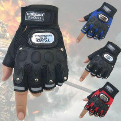 半指手套骑行手套男女夏季漏指头战术防滑耐磨特种兵运动透气