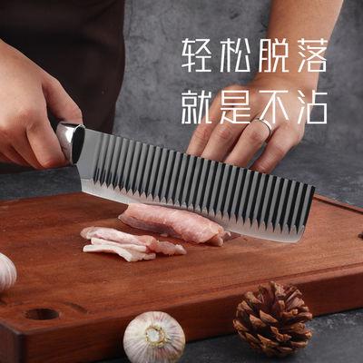 出口德国尾单刀具黑钢不粘刀具家庭日用不锈钢锋刃菜刀免磨水果刀