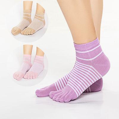 5 女士五指袜女棉中筒春秋冬款五趾袜子短筒隐形防臭吸汗袜
