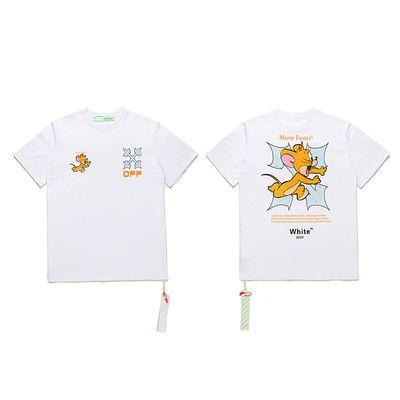 20SS早春OFF WHITE联名老鼠箭头OW潮牌嘻哈街头男女同款短袖T恤
