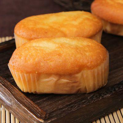 欧式软蛋糕整箱8个/48个装西式早餐蛋糕学生充饥饱腹散装零食小吃