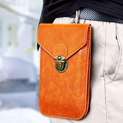 手机腰包男士6.57.0寸耐磨穿皮带多功能超薄时尚潮流工地户外运动