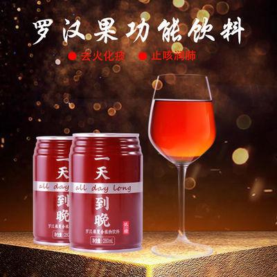 一天到晚罗汉果复合植物饮料低糖功能饮料喝的网红饮料整箱批发