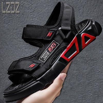 2020新款夏季男士透气凉鞋男学生韩版潮流休闲青少年男款沙滩鞋子