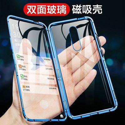 小米9手机壳9SE万磁王cc9保护套小米9pro金属透明米8磁吸双面玻璃