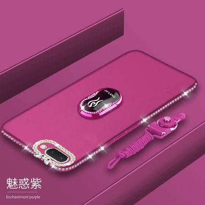 oppoA57手机壳A59m全包边硅胶保护套a57t磨砂防摔软壳水钻女款薄s