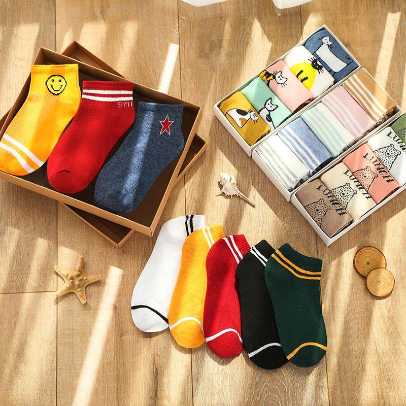 袜子女韩版短袜学院风日系隐形袜女士袜子船袜夏季浅口短筒袜学生