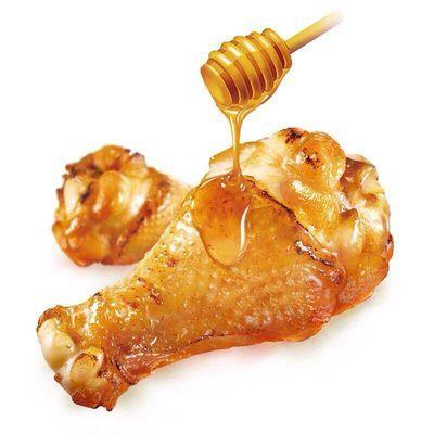 无穷蜂蜜烤鸡小腿400g*20包盒装烤鸡翅根肉类营养小吃零食小鸡腿