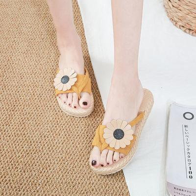 拖鞋女夏外穿网红凉拖鞋女防滑学生韩版凉鞋女新款时尚ins人字拖