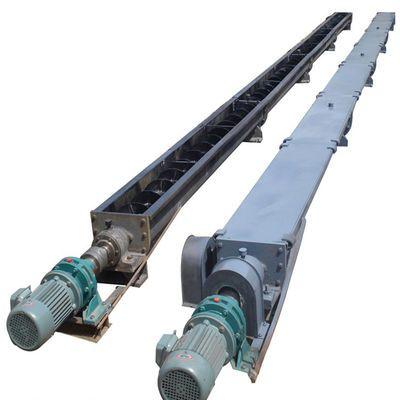 新型LS250单轴U型螺旋 无轴螺旋传送机 污泥脱水螺旋输送机德恒