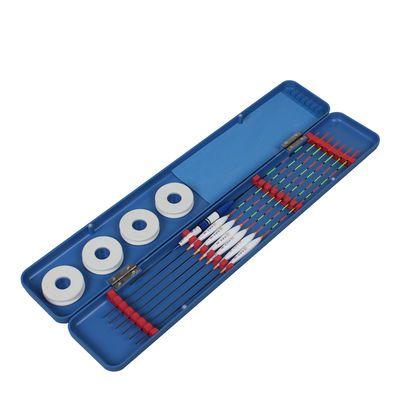 多功能鱼漂盒+6支3支装鱼漂 巴尔杉漂电子漂夜光漂纳米票漂盒套装