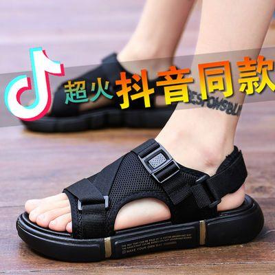 男凉鞋2020夏季新款潮流软底两用外穿沙滩鞋越南凉拖鞋男中大童鞋