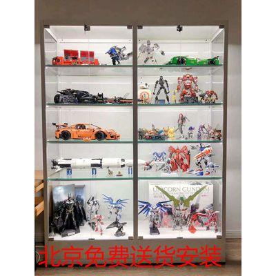 手办展示柜家用汽车模型展柜高达兵人玩具柜商用礼品化妆品货架柜
