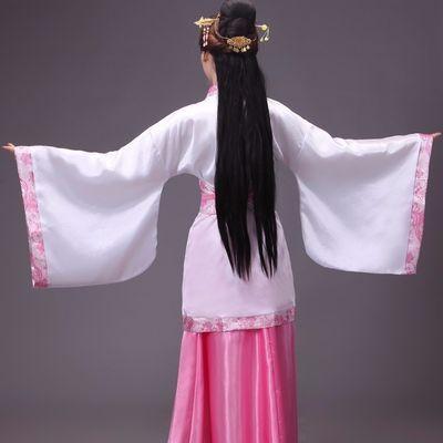 汉服女古装服装唐服仙女公主情侣演出服襦裙广袖清新淡雅中国