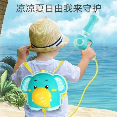 【漏水免费补发】夏天必备卡通玩具儿童背包水枪抽拉式喷水枪