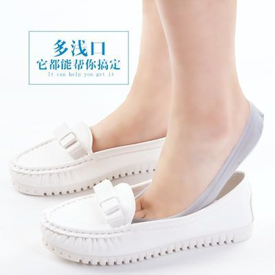 新品大码船袜女硅胶防滑浅口隐形韩版袜子夏天短袜冰丝夏季超薄款