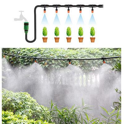 雾化微喷头套装自动浇花器农业用喷灌设备灌溉系统降温浇水喷雾器