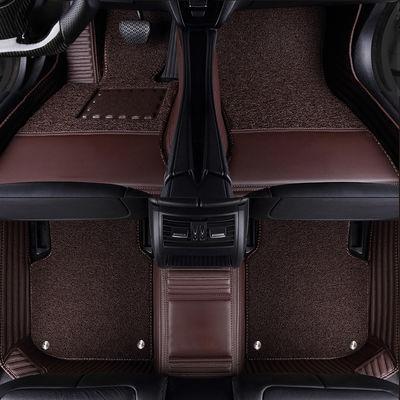 jeep自由光全包围汽车脚垫丝圈改装大包围专用脚踏垫易清洗地毯
