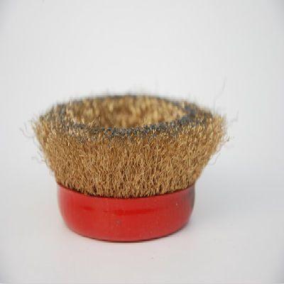 包邮钢丝轮 金属除锈碗型钢丝轮/除锈球/ 100/磨光机用 孔162020
