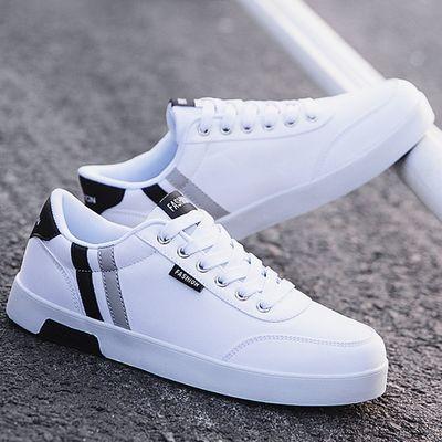 男鞋夏季2020新款潮鞋男士板鞋韩版潮流春季小白鞋休闲帆布鞋透气