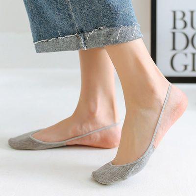 半掌大码船袜女棉半截浅口前脚掌吊带隐形袜子女夏季高跟鞋袜套