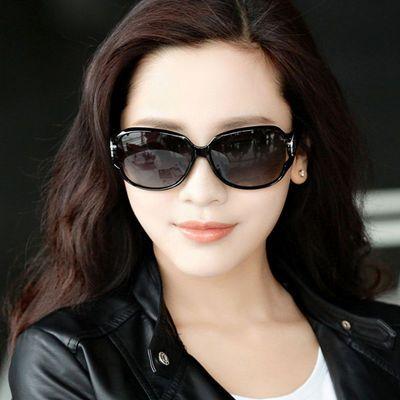 2020新款偏光太阳镜女大框圆脸眼镜时尚网红韩版防紫外线墨镜女士