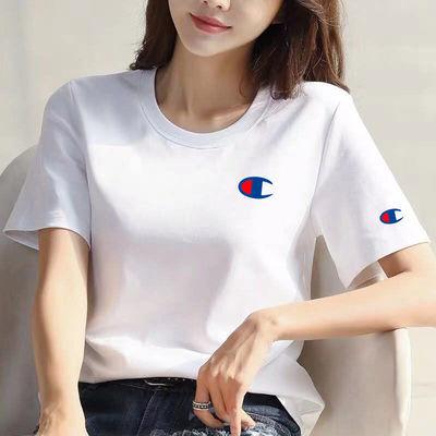 女体恤白色宽松情侣装合作地素中复古女夏短袖时尚修身t白色短袖