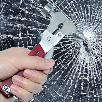 汽车车用多功能安全锤不锈钢救生安全锤纯钢逃生破窗器金属救生锤