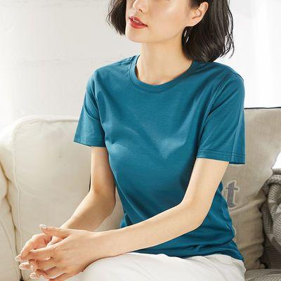宽松短袖恤绣花薄款情侣系列韩版夏季女韩版女夏装长合作短袖女宽