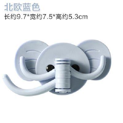 创意可爱大象壁挂粘钩厨房浴室免钉门后挂钩多用强力粘胶无痕挂勾