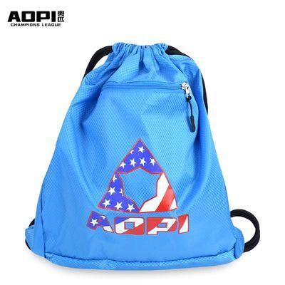 奥匹单肩双肩篮球包足球排球袋防水束口球袋外训练装备袋运动背包