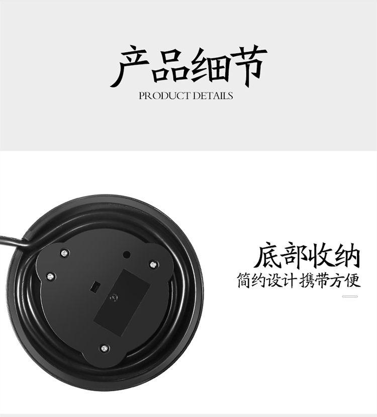 【全自动蒸汽煮茶壶】黑茶煮茶养生壶普洱多功能蒸茶器玻璃蒸茶壶养生壶GHD