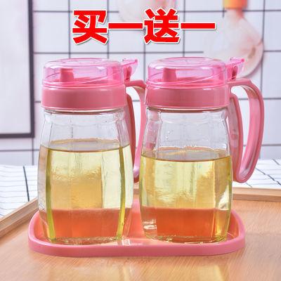 厨房家用玻璃油壶酱油醋瓶创意防漏不漏油油壶大号油罐有盖
