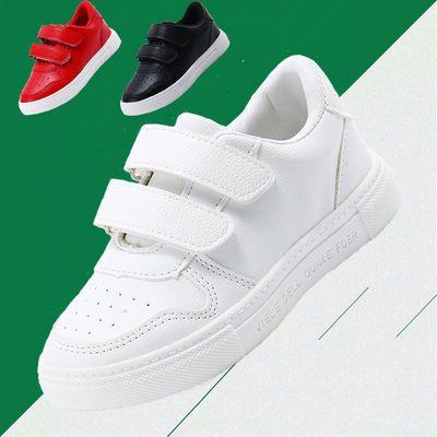 儿童小白鞋子2020春季透气小童板鞋小学生宝宝鞋男童女童鞋运动鞋