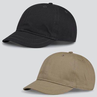 短帽檐棒球帽复古短沿男士短舌帽子男潮人短檐夏天小沿鸭舌帽女