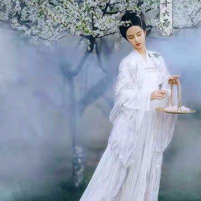 新款思无邪汉服套装女古装衣服仙女裙学生齐胸襦裙超仙中国风长款