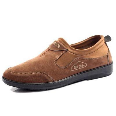 上海回力男鞋舒适低帮鞋春秋季轻便工作休闲鞋懒人套脚老北京布鞋
