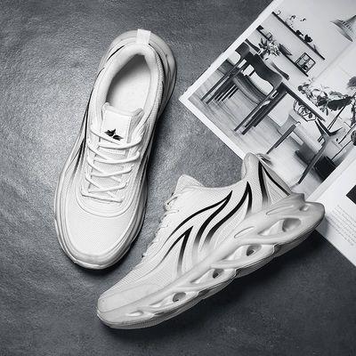 2020春秋季风烽火刀锋鞋子韩版潮流鞋男士透气百搭增高跑步运动鞋