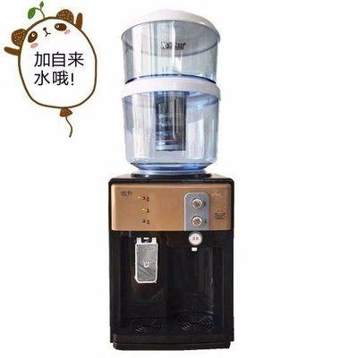 台式饮水机+过滤桶净水器整套家用直饮自来水活性炭过滤特价促销