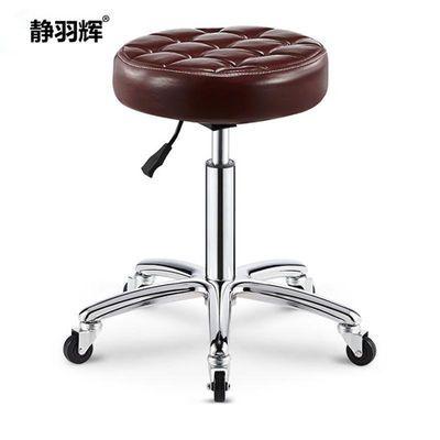 美容凳理发店椅子美发凳旋转升降圆凳子大工凳美甲凳滑轮化妆剪发