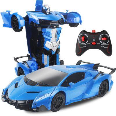 【变形遥控汽车】变形遥控玩具车充电动金刚机器人男孩儿童玩具车