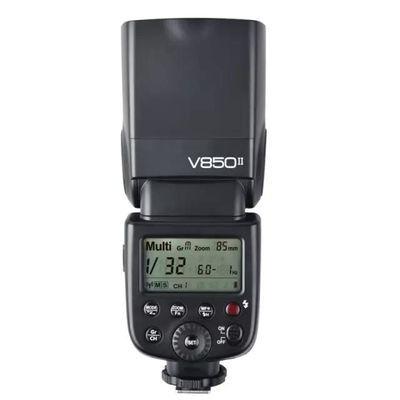 神牛V850II闪光灯相机锂电机顶灯佳能尼康索尼通用离机高速同步
