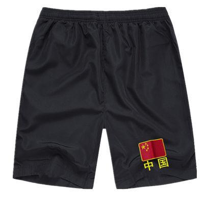 新款军迷刺绣中国旗军装短裤男体能特种兵户外运动训练休闲宽松五