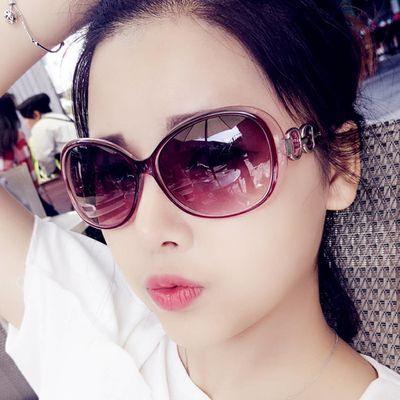 顺丰包邮【不分老少皆可佩戴】墨镜新款炫彩太阳镜女士防紫外线太