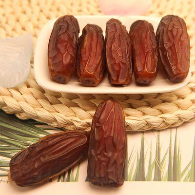 椰枣500g特级迪拜阿联酋伊拉克免洗新疆特产蜜枣黑耶枣干零食158g