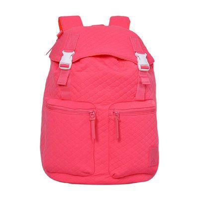 Adidas阿迪达斯正品双肩背包女生款书包旅行背包粉色休闲包